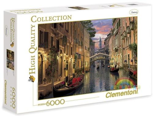 f95bfec6 Clementoni puzzle 6000 elementów Wenecja ZABAWKOWNIA